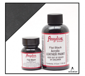 Màu Angelus Leather Paint Flat Black