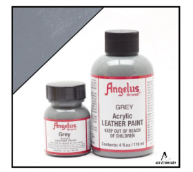 Màu vẽ da, vải Angelus Leather Paint Grey – (1Oz | 4Oz)