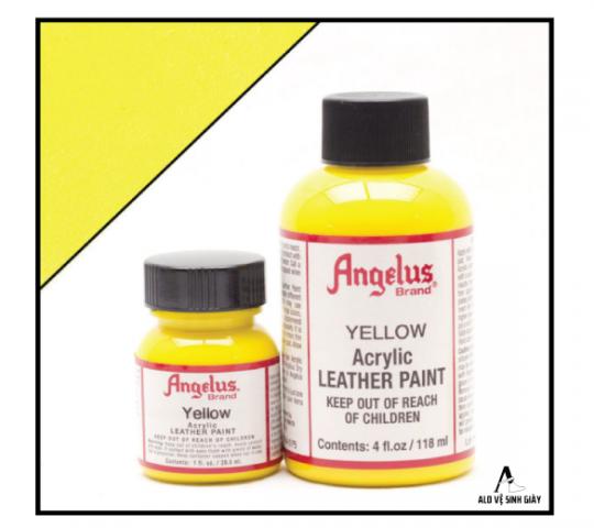 Màu  Angelus Leather Paint Yellow