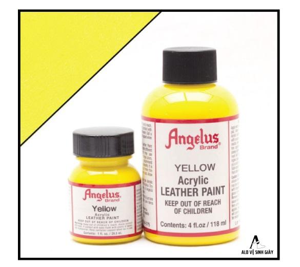 màu angelus yellow- alo vệ sinh giày